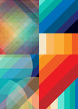 Комплект красочной предпосылки для дела Стоковое фото RF