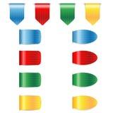 Комплект красочных закладок Стоковые Изображения RF