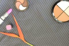 Комплект красочных косметик Стоковое Изображение RF