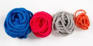 Комплект красочных мотков веревочки Стоковые Фотографии RF