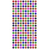 Комплект красочных передвижных значков иллюстрация вектора