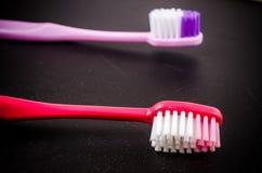 Комплект красочных toothbrushs Стоковые Фотографии RF