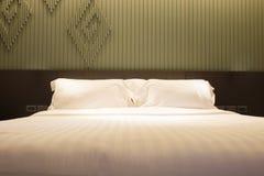 Комплект кровати и подушки Стоковые Фотографии RF
