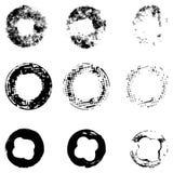 Комплект кругов, печатей Стоковая Фотография RF