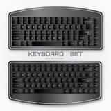 Комплект клавиатуры компьютера Стоковая Фотография