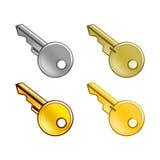 Комплект ключей Бесплатная Иллюстрация