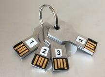 Комплект ключей 2 стоковое изображение rf
