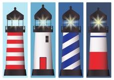 Комплект маяка Стоковое Фото