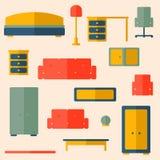 Комплект мебели Стоковые Изображения RF