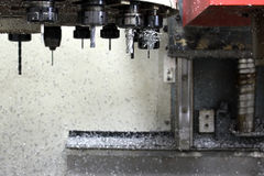 Комплект механического инструмента CNC Стоковое фото RF