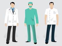 Комплект медицинских характеров Стоковая Фотография RF