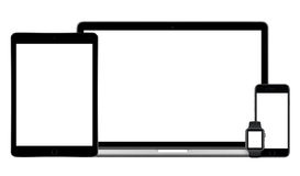 Комплект модель-макета приборов Яблока multi стоковая фотография