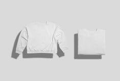 Комплект модель-макета фуфайки стоковые изображения rf