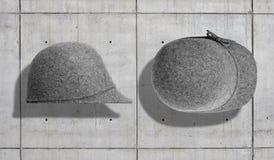 Комплект модель-макета шляпы Стоковое Изображение RF