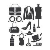 Комплект моды Стоковые Изображения