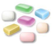 Комплект мыла Стоковое Изображение RF