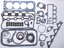 Комплект набивок для двигателя стоковые изображения rf