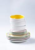 комплект обедающего 12 частей Стоковая Фотография RF