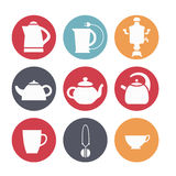Комплект обслуживания чая Стоковая Фотография