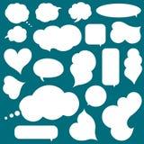 Комплект облаков для идей дела Стоковые Фотографии RF