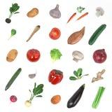 Комплект овоща Стоковые Фотографии RF