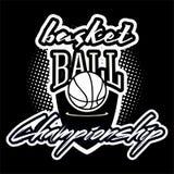 Комплект логотипа Streetball Стоковое фото RF