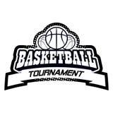 Комплект логотипа Streetball Стоковые Изображения