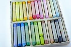 Комплект пастелей Стоковые Фотографии RF