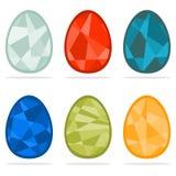 Комплект пасхальных яя Стоковые Изображения RF
