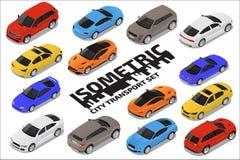 Комплект перехода вектора равновеликий высококачественный Значки автомобиля бесплатная иллюстрация