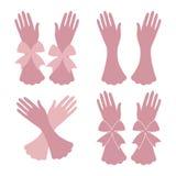 Комплект перчаток Стоковое Изображение RF