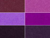 Комплект пестротканых блестящих текстур Стоковое Изображение RF