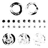 Комплект печатей кругов Стоковые Изображения RF
