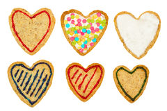 Комплект печенья Стоковые Изображения