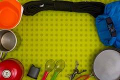 Комплект пешего оборудования Стоковое фото RF