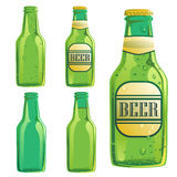 Комплект пивной бутылки Стоковые Фото