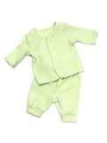 Комплект пижамы младенца Стоковая Фотография