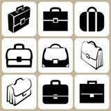 Комплект портфелей Стоковое Фото