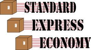 Комплект поставки коробки Стоковые Изображения RF