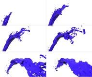 Комплект потока жидкости летания Стоковые Фотографии RF
