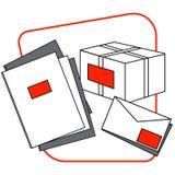 Комплект почтового отделения Стоковые Изображения