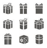 Комплект подарочной коробки Стоковые Изображения