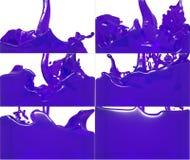 Комплект подачи краски заполняет вверх контейнер Стоковая Фотография RF