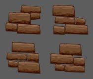 Комплект предпосылки камней Стоковая Фотография RF