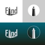 Комплект предпосылки маяка Стоковые Изображения RF