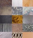 Комплект предпосылки текстур Стоковое Изображение RF