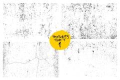 Комплект предпосылки grunge царапины городской Запылитесь зерно дистресса верхнего слоя, просто установитесь иллюстрацию над любы Стоковые Изображения