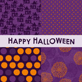Комплект предпосылок хеллоуина Стоковая Фотография RF