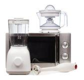 Комплект приборов кухни стоковая фотография rf