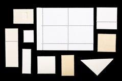 Комплект пустых штемпелей почтового сбора Стоковое фото RF